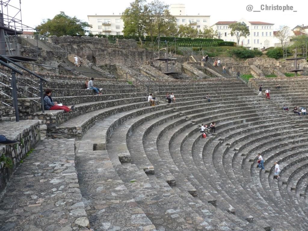 Lyon - les arènes romaines