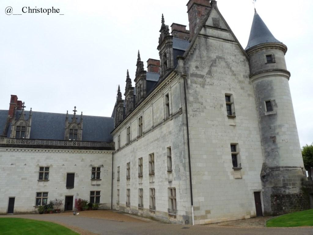 Amboise - aile restante du château
