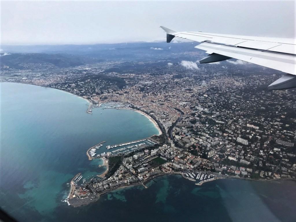 Cannes - la pointe de la Croisette