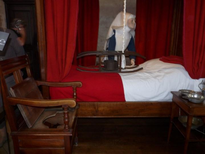 Hôtel Dieu à Beaune - salle des pauvres