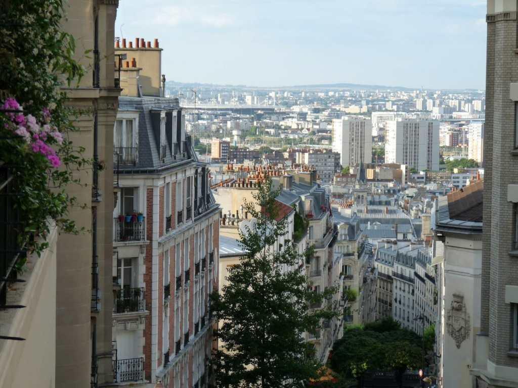 Montmartre - vue vers Saint Denis