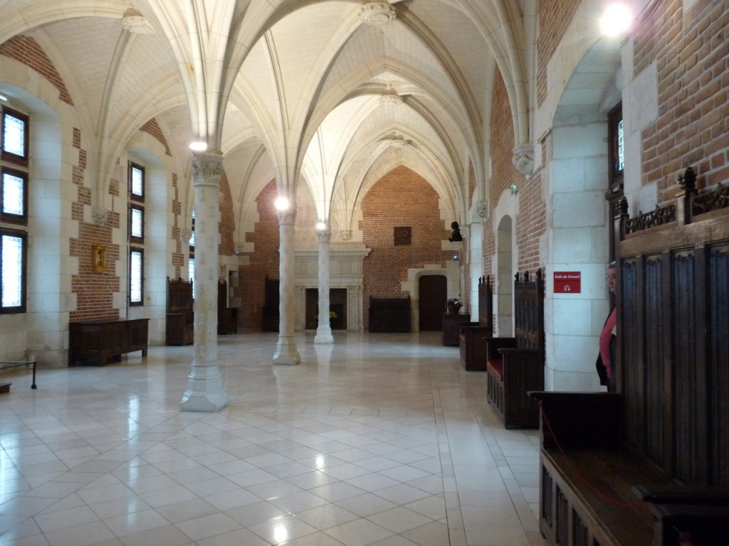 salle du conseil du château d'Amboise