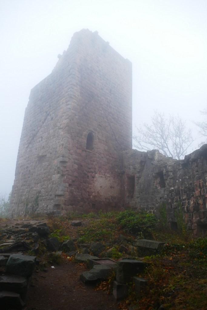 Donjon du château de Landsberg