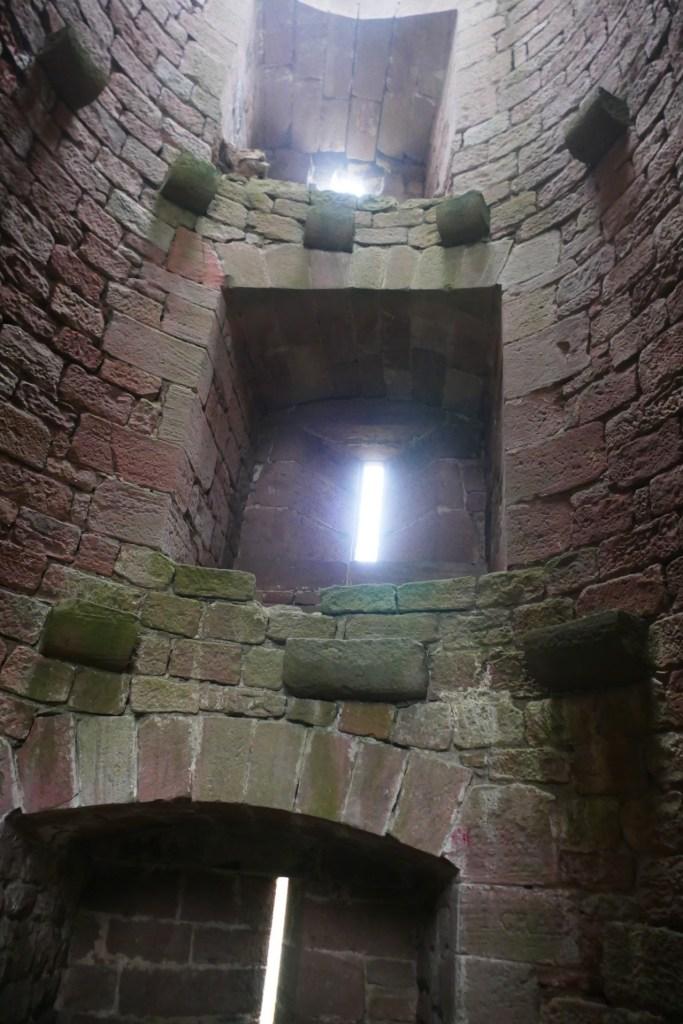 Une tour du château de Landsberg