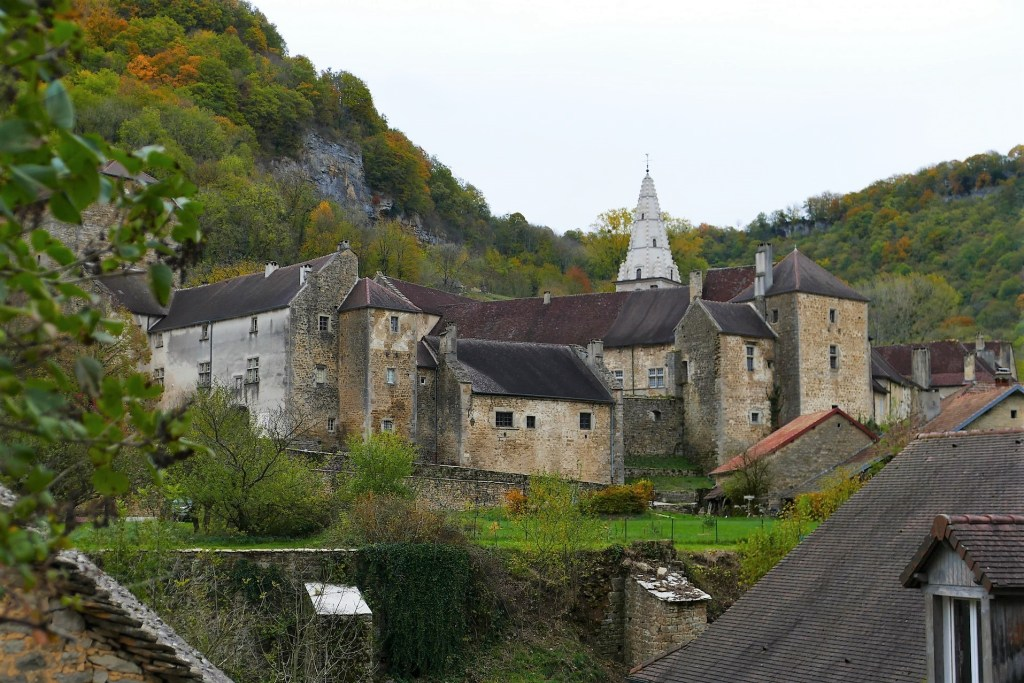 Baume-les Messieurs - abbaye