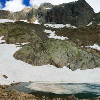 Cime du Gélas et Lac Blanc