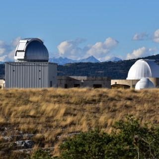 Plateau de Calern - observatoire du CERGA