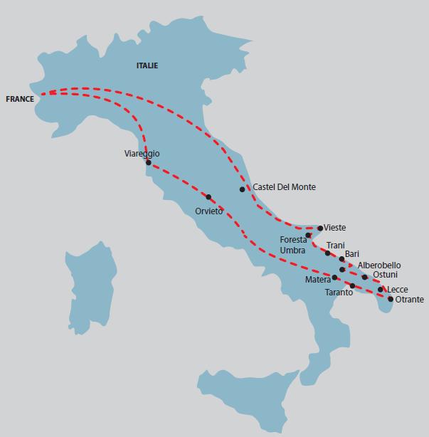 Les Pouilles : La botte de l'Italie