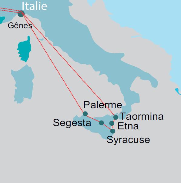 Le Grand tour de Sicile