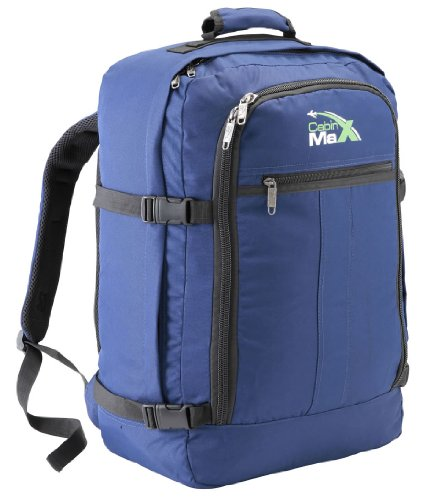 Cabin-Max-Metz-Bleu-Marine-Sac--dos-et-bagage--mains-pour-cabine-capacit-brute-de-44l-55x40x20cm-0
