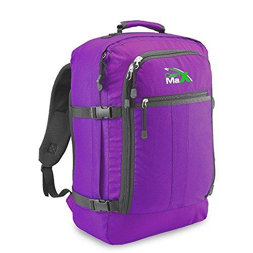 Cabin-Max-Sac--dos-et-bagage--mains-pour-cabine-capacit-brute-de-44l-55x40x20cm-Couleur-Violet-0
