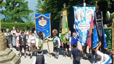 Hommage à Ludwig II, Louis 2 de Bavière, au lac Starnberg en Haute Bavière 12