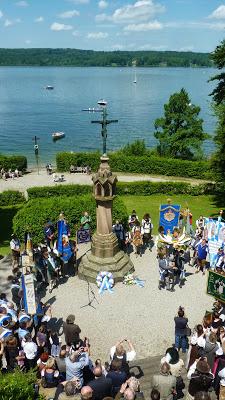 Hommage à Ludwig II, Louis 2 de Bavière, au lac Starnberg en Haute Bavière 27