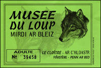 billet musée du loup bretagne