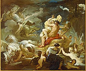 Rapt de Proserpine de Luca Giordano