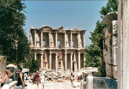 bibliothèque ephese efes turquie