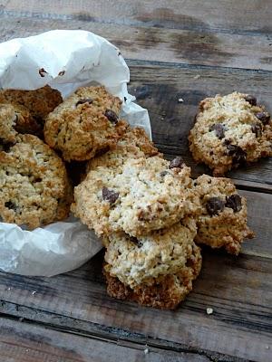 cookies flocons avoine pépites chocolat