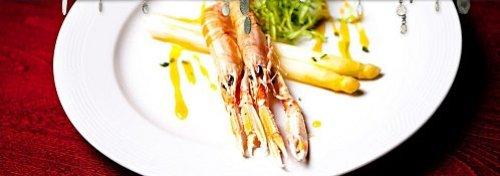 oliva restaurant prague crevettes huile d'olive