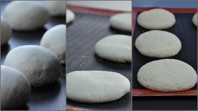 Batbouts, pain marocain cuit à la poêle