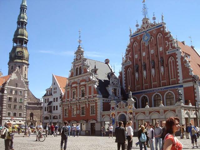 Riga 2014, capitale européenne de la culture ; un château de Lumière 16