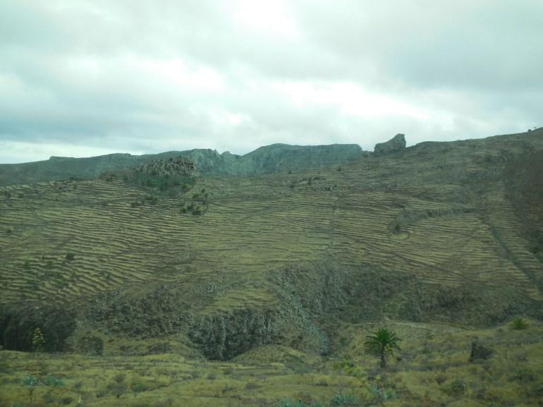 Autre partie de l'île sans la moindre végétation...