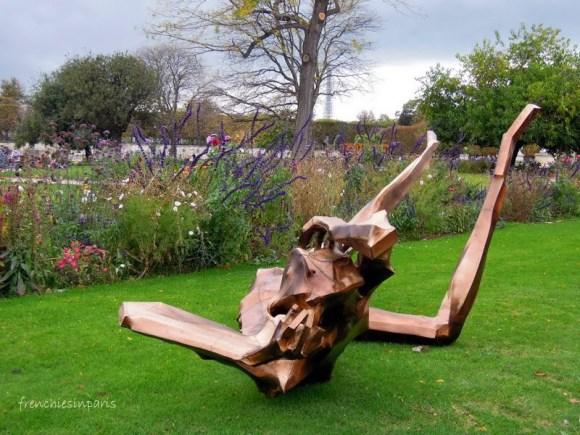 De l'art contemporain dans les jardins de Paris 2