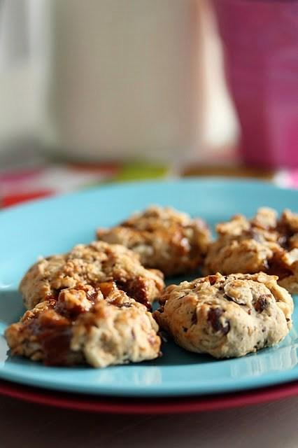 Cookies très moelleux aux noisettes à la confiture de lait 1