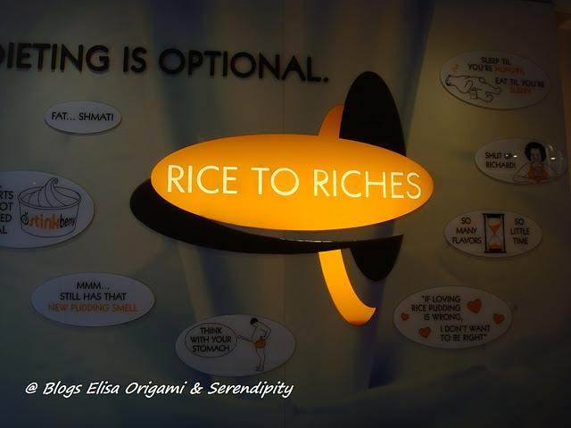 Rice to Riches manatthan new york