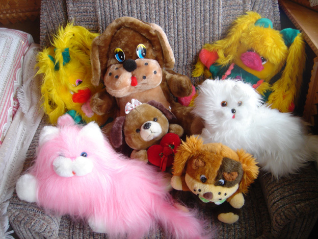 collection de peluches kitsch ukraine