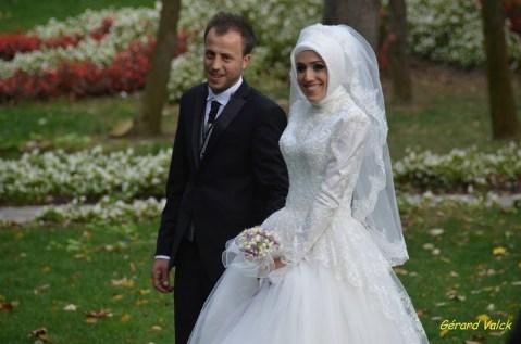 mariage istanbul mariés