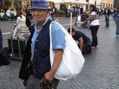 Guide Rome - Piazza Navona, pêle-mêle du dimanche 7