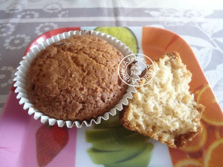 muffins au beurre de cacahuète