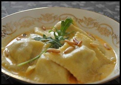 raviolis crevettes