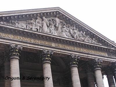 Une visite au Panthéon à Paris 10