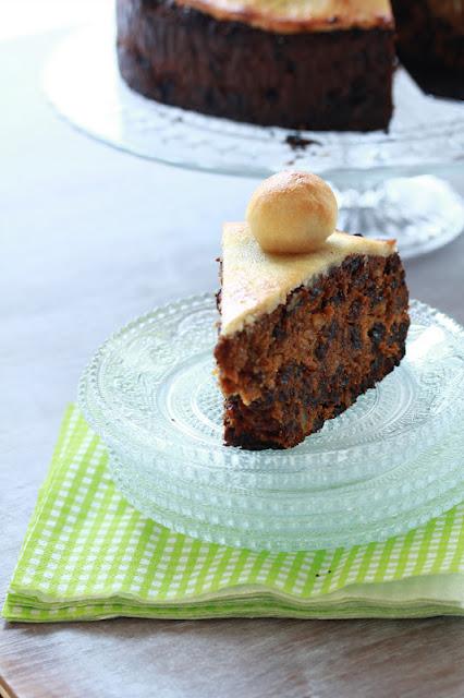simnel cake anglais aux fruits