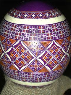Pâques en Ukraine : L'art de la pyssanka; les œufs décorés artisanaux 5