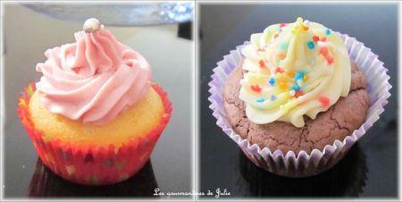 cupcakes choco vanille