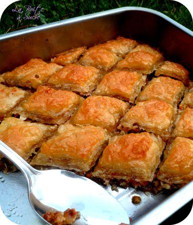 Baklava baklawa recette patisserie orientale