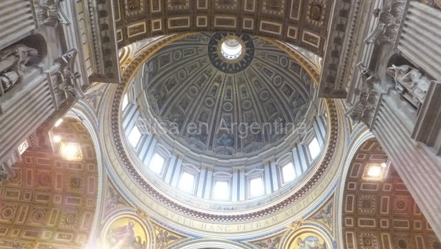 coupole saint pierre vatican rome