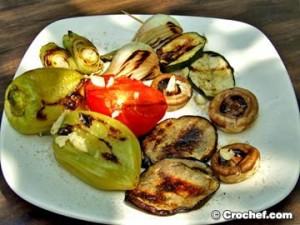 legumes grillés croates