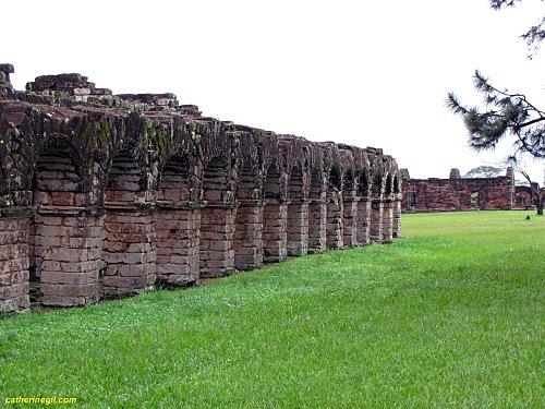 Réduction de Trinidad au Paraguay