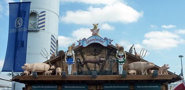 Oktoberfest de Munich : un kitsch de bande dessinée dans le ciel 8