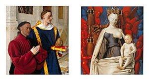 Etienne Chevalier et la Vierge par Fouquet (3)