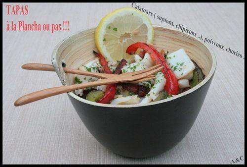 Supions, chipirons,calamars à la plancha (2)