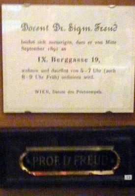 freud museum bergasse vienne