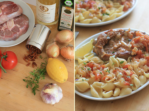 Ingrédients Osso-Bucco