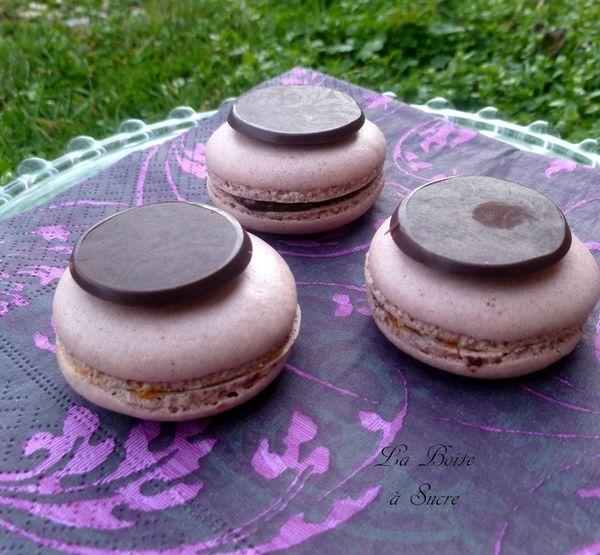 e6b75f6a74 82994612 p Macarons aux clémentines et chocolat noir