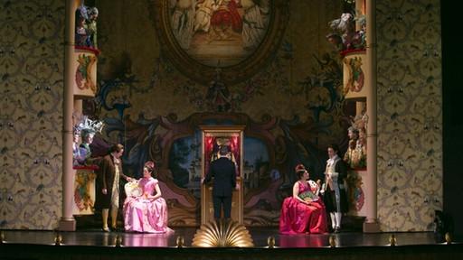 """Szene aus Mozarts """"Entführung aus dem Serail""""   Bild: Thomas Dashuber"""