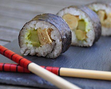 maki futomaki sushi
