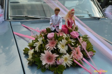 mariage istanbul voiture barbie